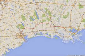 Iberia Route Map by Andrea And Guido Across The U S Day 31 Baton Rouge La To