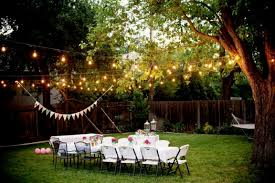 Back Yard Party Ideas Backyard Party Decorations House Design And Planning