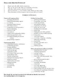 What Not To Put On A Resume Skills And Abilities For Resume Sample What Skills To Put On A