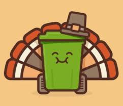 garbage schedule thanksgiving day observation and week city of
