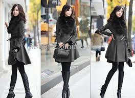 classic clothing classic women woolen coat luxury style slim women coat removable