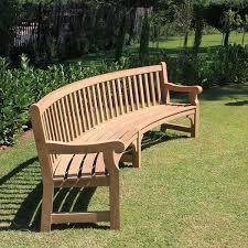 gardening bench bench design amazing curved garden bench curved indoor bench