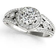 wide band engagement rings wide band diamond rings polyvore