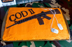 call of duty birthday cake call of duty birthday party exquisite