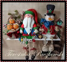 teresa paczkowski país de galletas muñecos de nieve y faroles