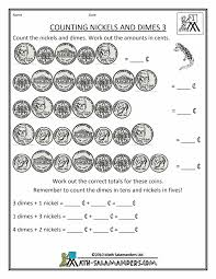 Coin Worksheets Free Money Math Worksheets Counting Nickels And Dimes 3 Gif 790