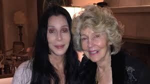 cher posted a picture with her mom and the internet went nuts
