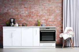 briques cuisine cuisine en brique ou blanche 36 idées ultra tendance