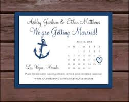 nautical save the date boat save the date etsy