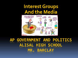 interest groups and the media interest groups reasons for their