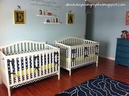 Sock Monkey Baby Bedding Loving Life Twin Boy Nursery On A Budget