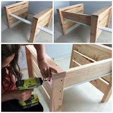 How To Make A Wooden Table Top Jump by Ana White Modern Outdoor Chair From 2x4s And 2x6s Diy Projects