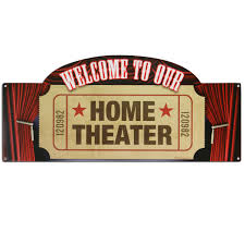 amazing home theater sign home decor interior exterior cool to