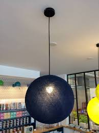 Pendant Light Fixture by La Case De Cousin Paul Large Globe Pendant Light Lappartement