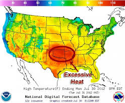 Uri Map Extreme Heat Continues To Plague South Central States Climate