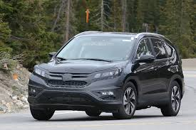Honda Crv Diesel Usa Spyshots 2016 Honda Cr V Facelift Testing In The Us Autoevolution