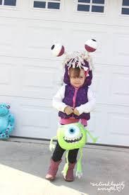 Monster Boo Halloween Costume Monsters Halloween Costumes Boo Roz Homemade Halloween