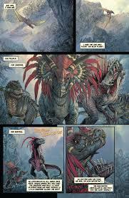 preview u0027dinosaurs vs aliens u0027 graphic novel bloody disgusting