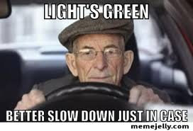 Funny Old Lady Memes - list of synonyms and antonyms of the word old lady driving meme