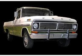 ford truck grilles 1970 72 ford f 100 f 250 billet grille insert 2