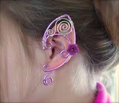 ear wraps pretty in pink ear cuffs ear wraps by jhammerberg on deviantart