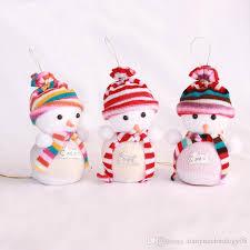 gift wrap snowman apple bag gift