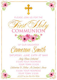 communion invitations for girl communion invitation girl communion invitation
