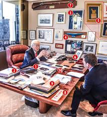 Messiest Desk Award What Trump U0027s Messy Office Reveals About His Leadership Style