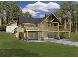 one house plans with basement lovely one floor house plans with walkout basement home