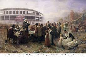 the history of thanksgiving and the pilgrim cub fans revised