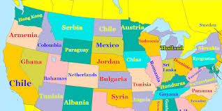 map of is states us states and capitals map list of us states and capitals united