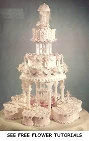 wedding cakes with fountains wedding cakes