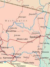 map of washington die besten 25 washington state map ideen auf