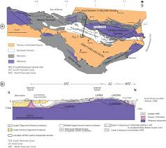 Map Of Ne New Magnetostratigraphic Dating Of The Palaeogene Syntectonic