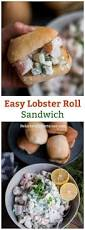 lobster roll recipe easy lobster roll sandwich recipe reluctant entertainer
