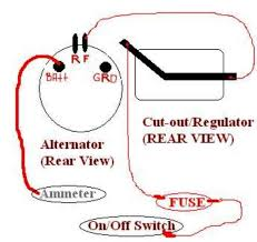 need help wiring a delco 10 dn alternator farmall cub