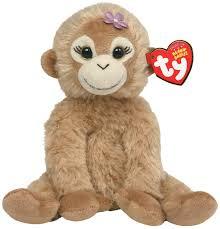 amazon com ty beanie baby missy monkey toys u0026 games