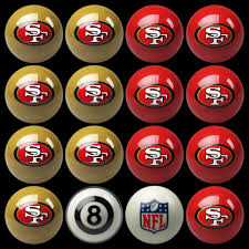 49ers pool table felt san francisco 49ers pool balls cuesight com