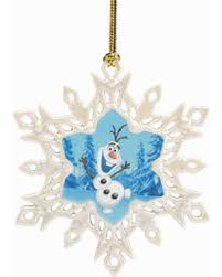 check out these bargains on disney s olaf snowflake ornament by lenox