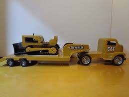 zobic dumper truck trucks for tonka caterpillar low boy hauler with dozer trailer carry all