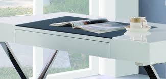 White High Gloss Computer Desk Ba101 I Furniture Import Export Inc