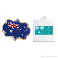 Mexican Flag Stencil 2018 Australia Flag Decorating Stencil For Cookies And Cupcake