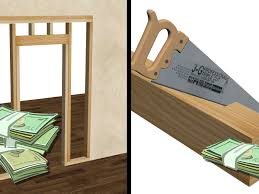 Cost To Replace Interior Doors And Trim How To Frame A Door Opening 13 Steps With Pictures Wikihow