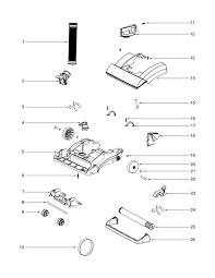 eureka litespeed vacuum model 5859 parts diagrams u0026 schematics