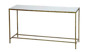 Metal Console Table Metal Feminine Framed Console Table Katy Elliott