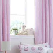 Blush Pink Curtains 100 Cotton Soft Ditsy Print Ring Top Lined Blush Pink