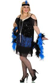 Plus Size Costumes Miss Elsie 1920 U0027s Flapper Plus Size Costume Women U0027s Flapper Dress