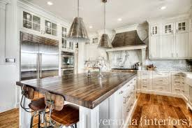 Veranda Interior Design by Butcher Block Counters Transitional Kitchen Veranda Interiors