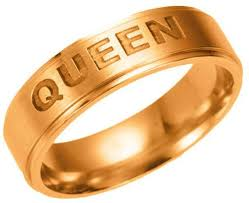 king gold rings images Fashion new sterling silver queen ring king couples rings couples jpg
