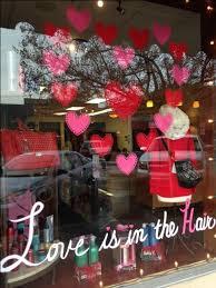Valentines Decoration Ideas For Windows by Best 25 Salon Window Display Ideas On Pinterest Interactive